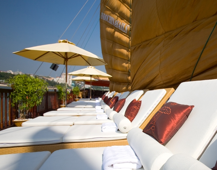 Indochina Sails-Sundeck