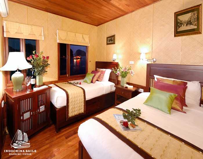 Indochina Sails-Twin Room