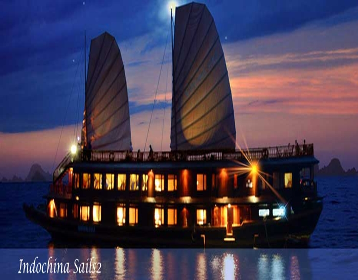 Indochina Sails-Night Time