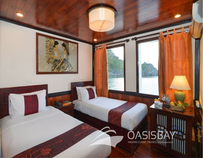 Oasis Bay Cruise-Twin Room