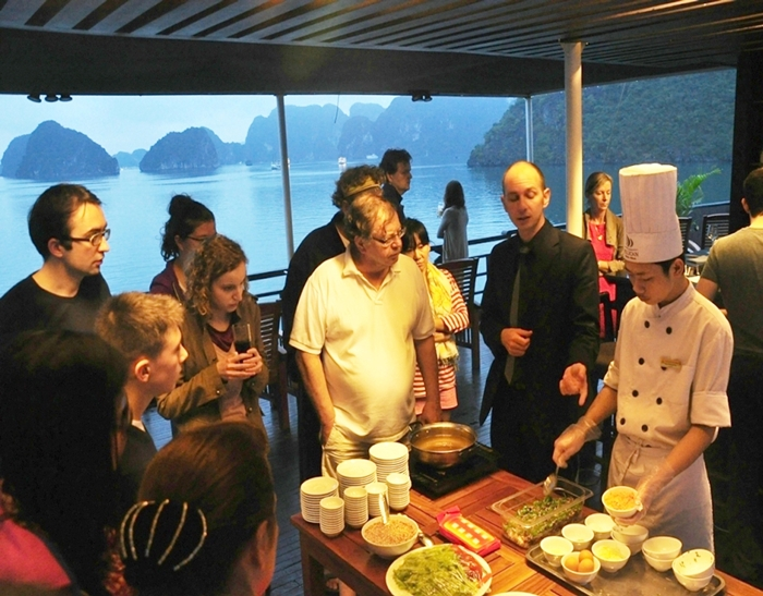 Oriental Sails Cruise-Cooking Class