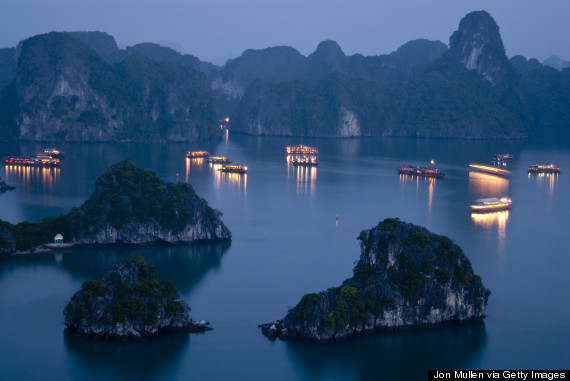 Sleeping on boat in Halong Bay-Vietnam Eco Travel