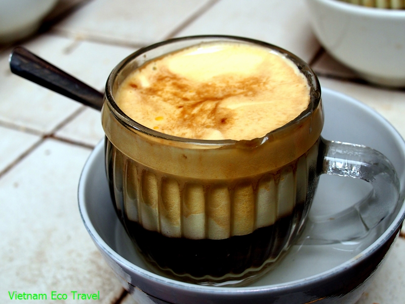 Egg Coffee in Hanoi