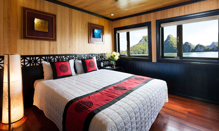 Halong Fantasea Cruise-Room View