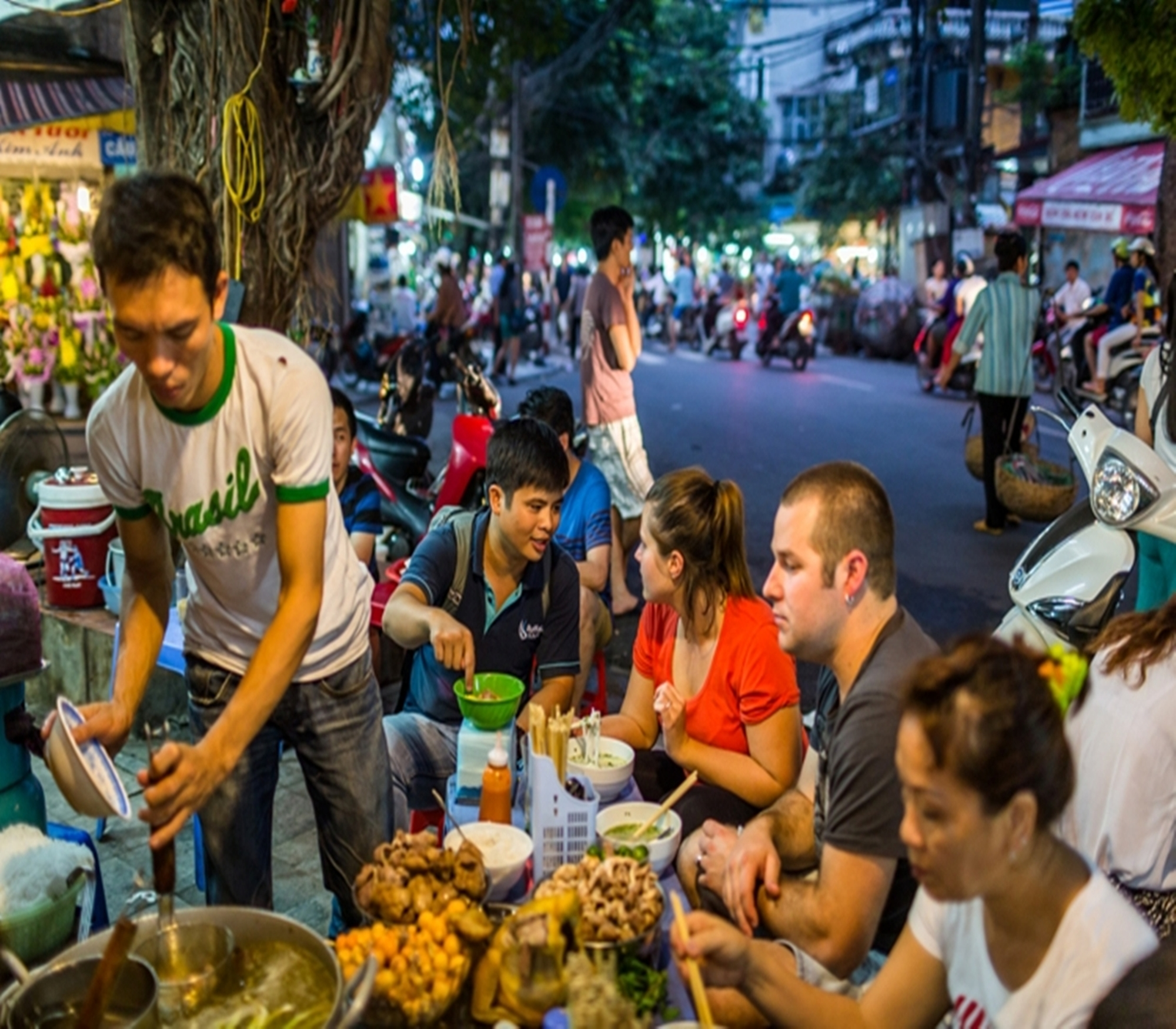 Hanoi Street Food Tour, Best Hanoi Street Food Tour in Hanoi