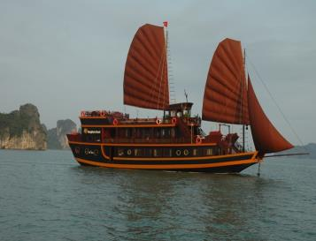 Dragon's Pearl Halong Bay Cruise