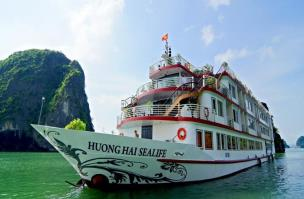 Huong Hai Sealife Halong Bay Cruise